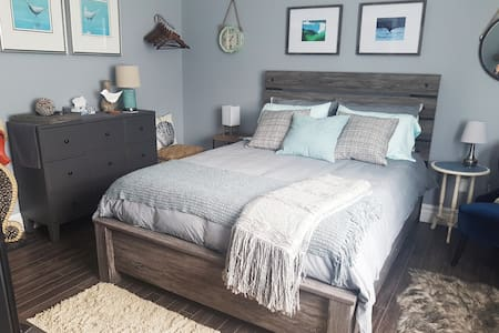 The Coastal Room--inspired by the sea!