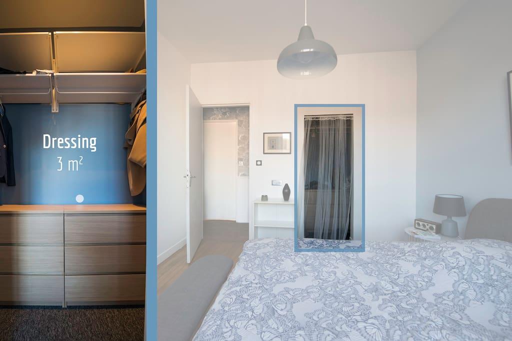 Chambre N°2 (Dressing)