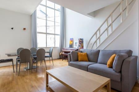Beautiful & Enormous duplex flat in Paris - Paris - Loft
