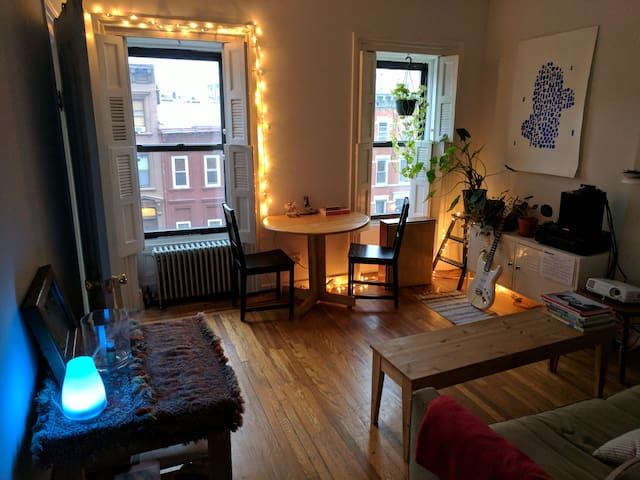 Single room in Clinton Hill brownstone