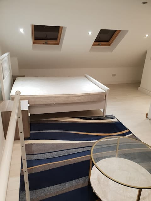 Large modern loft room