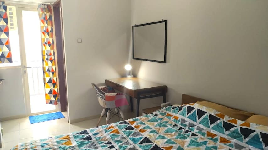 Cozy Studio @Green Lake View/Rp2,75mill perMonth