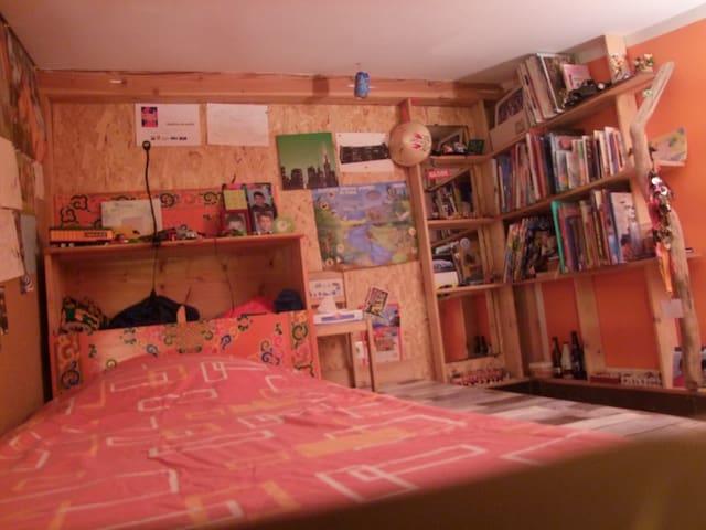 chambre timéo lit simple 90/200