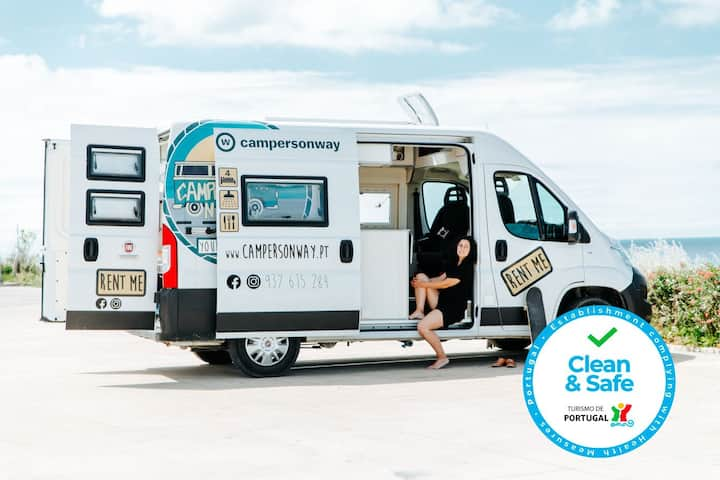 New fully-equiped campervans to rent | Campersway