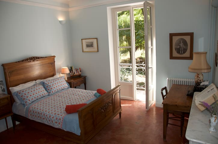 Beautiful period room in 19thC lodge with pool - Saignon - Inap sarapan