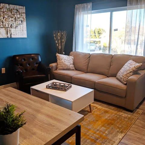 Living Room + Dining Room