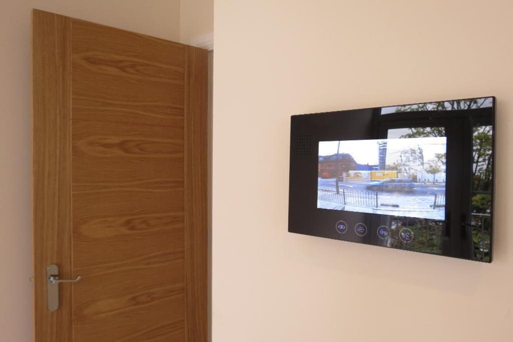 Secure Video entry system