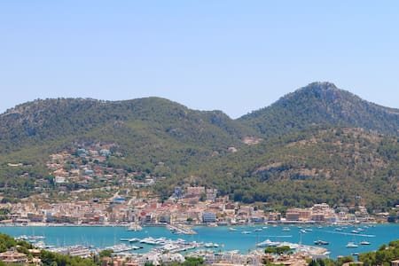 Finca mit Meer- und Hafenblick - Port d'Andratx