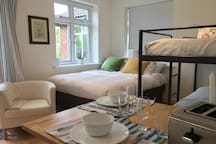 Guest flat in a quiet village close to Cambridge