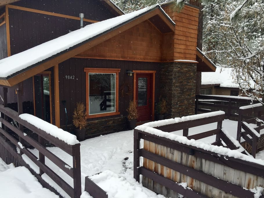 Cabin near king 39 s beach n tahoe houses for rent in for North lake tahoe cabins