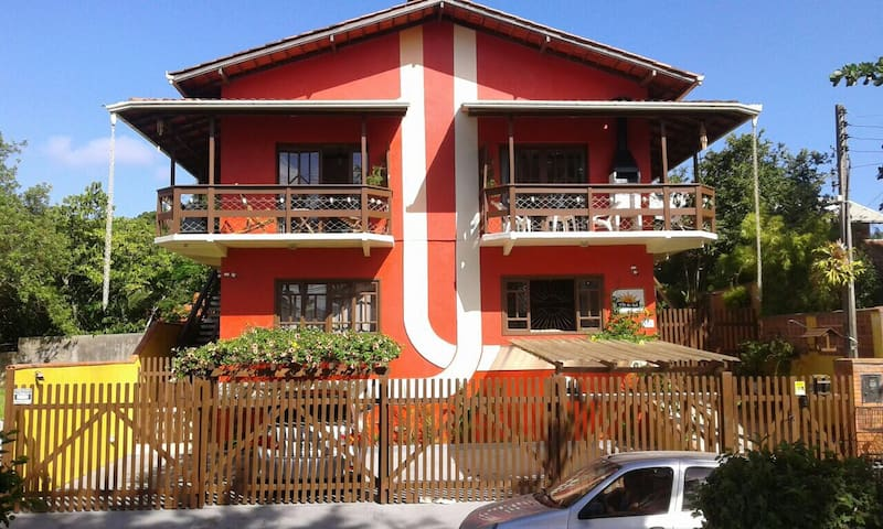 Lindo apartamento com churrasqueira Vila de Sol.