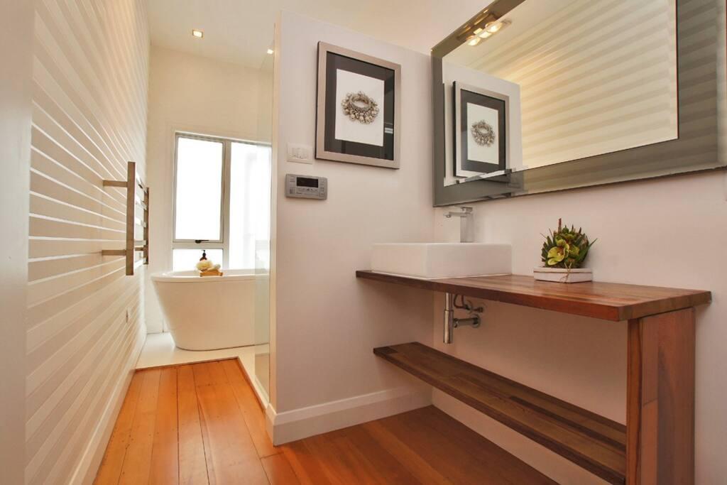 Guest Bathroom includes bath (separate toilet)