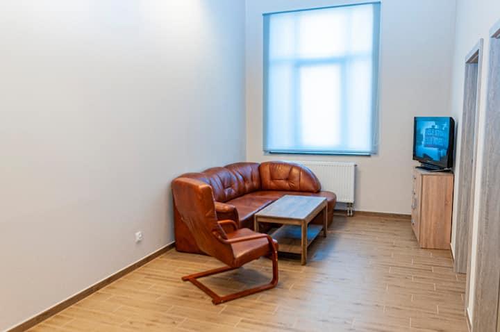 Apartament 74 m2 u podnóża Gór Sowich