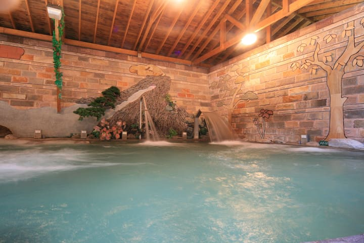 Lusan Hotspring Twin room,close to Cingjing - Ren'ai Township - Hostel