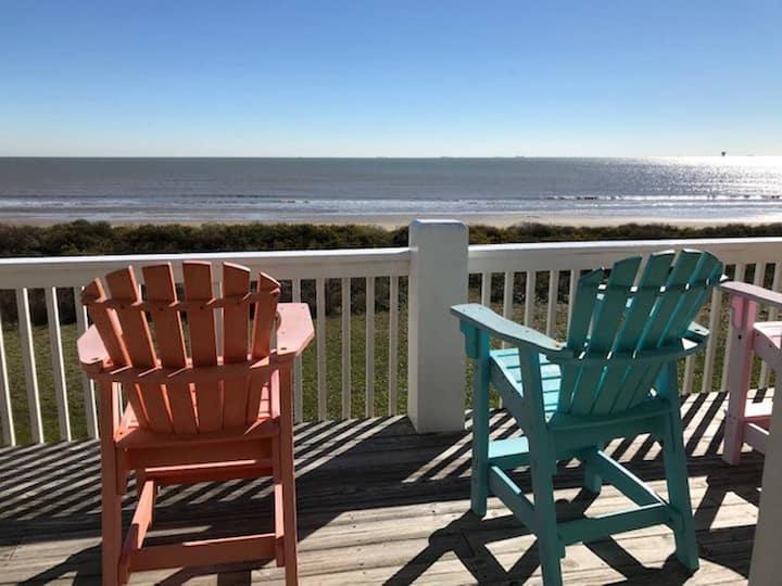 Southern Wave, Beachfront, Pet Friendly, WiFi