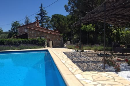 Provencal House with large pool - Seillans - Hus
