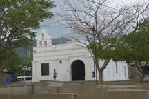 Iglesia católica en Taganga