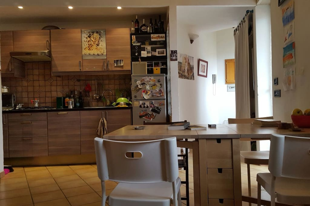 Napoli bright and panoramic apartment appartements for Airbnb napoli
