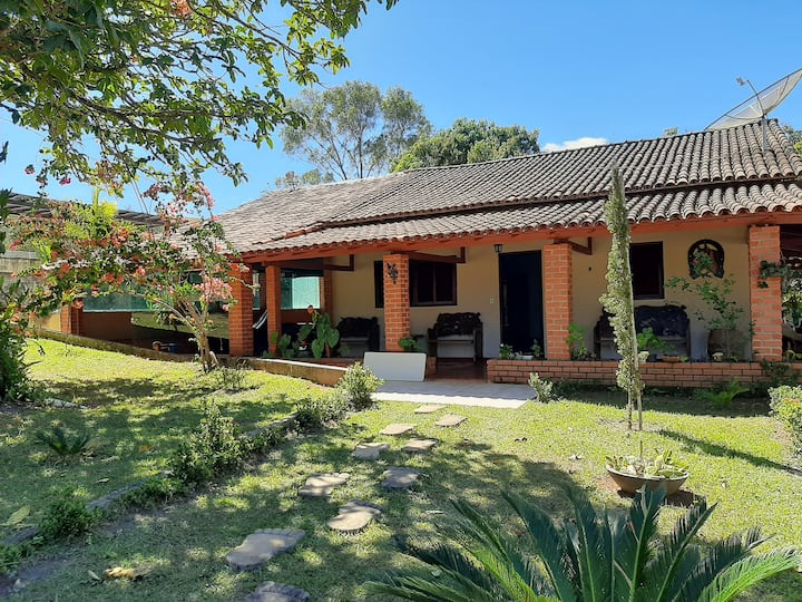 Rancho Jenipapo - Fantástica casa de campo