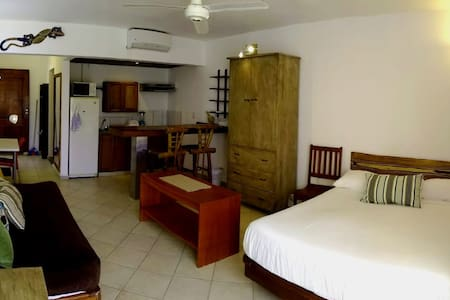 20-Air Conditioned studio, 2de floor ocean view