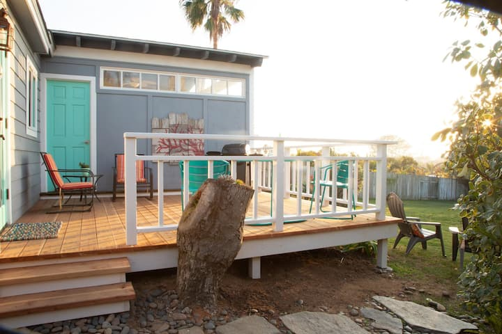 Encinitas Coral Reef Guest Quarters a breezy fresh fun bright and pet friendly spot