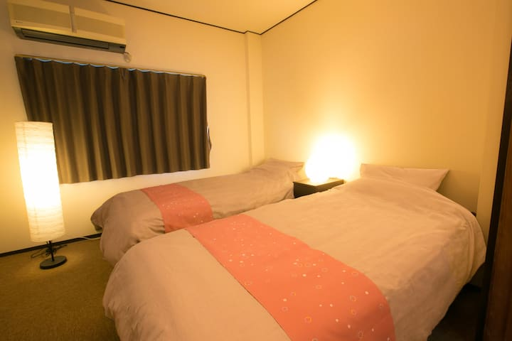 Bed Room!! It's very comfortable!!