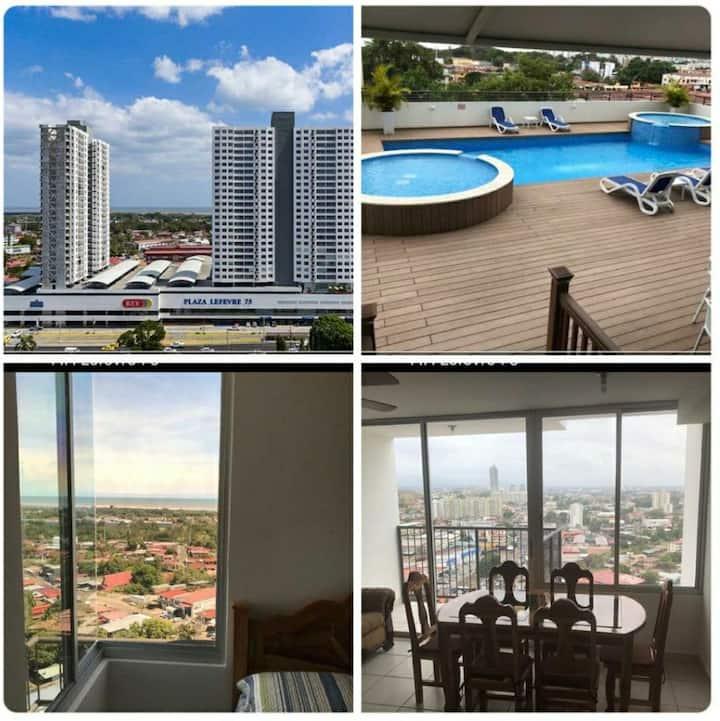 Apartamento cómodo en la ciudad de Panamá