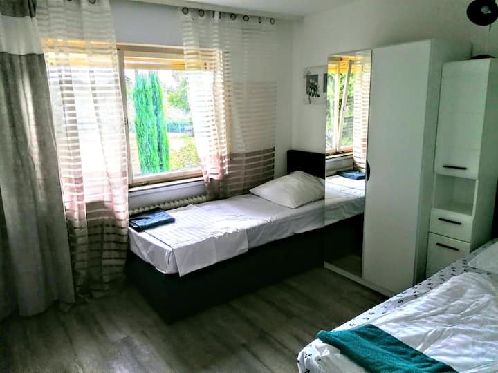 2RoomApartment1OG Opel City near Frankfurt Airport
