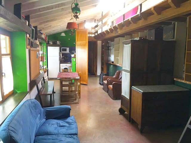 Bglw-studio in Cantabria (12KM far from the beach) - Quijas - Bungalou