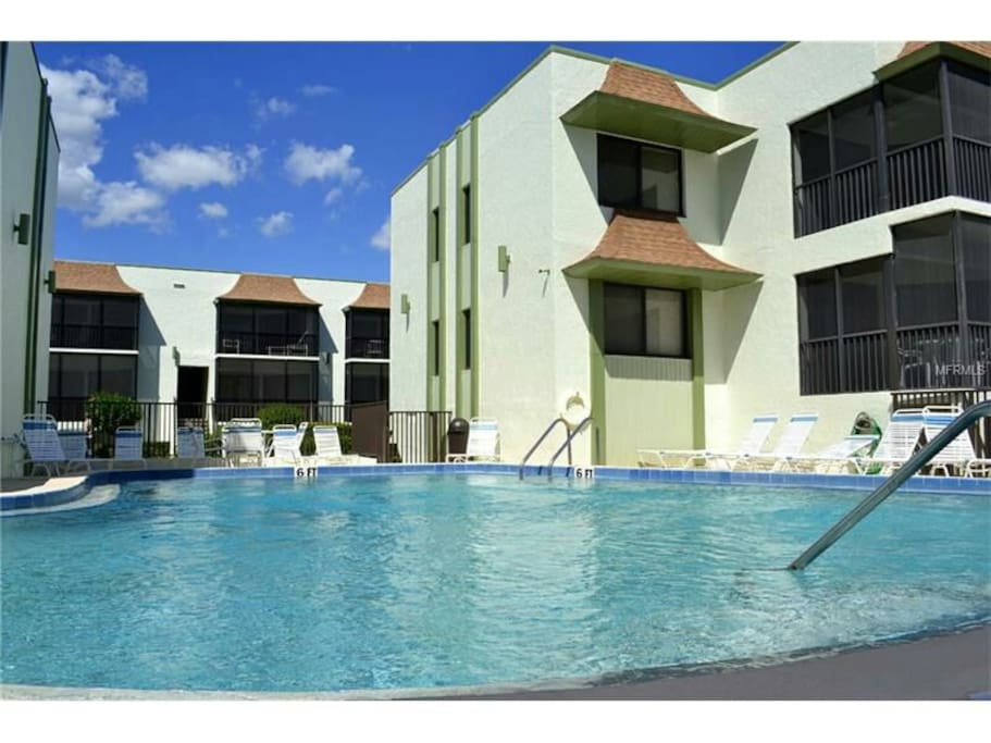Heated pool you are given a personal key...for private residents only and their guests!