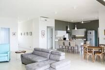 Open & Sociable Kitchen