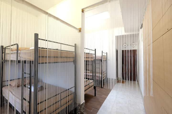 AC Mixed Dormitory for 3 Guests