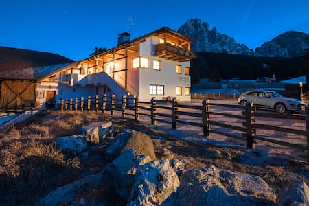 Cesa Pana Mountain Lodge B - Two Bedroom apartment - Santa Cristina Valgardena