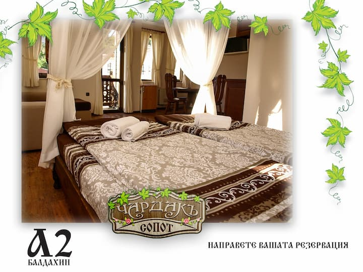 Baldahin A2 Guest House Chardaka Sopot