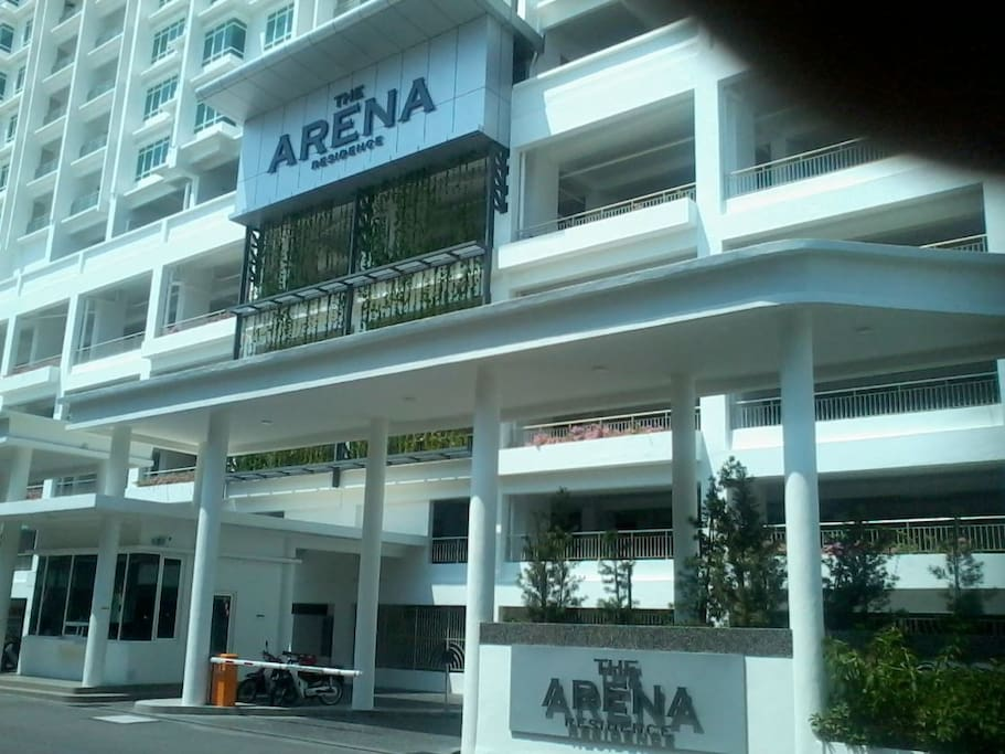 Entrance to Arena Suites