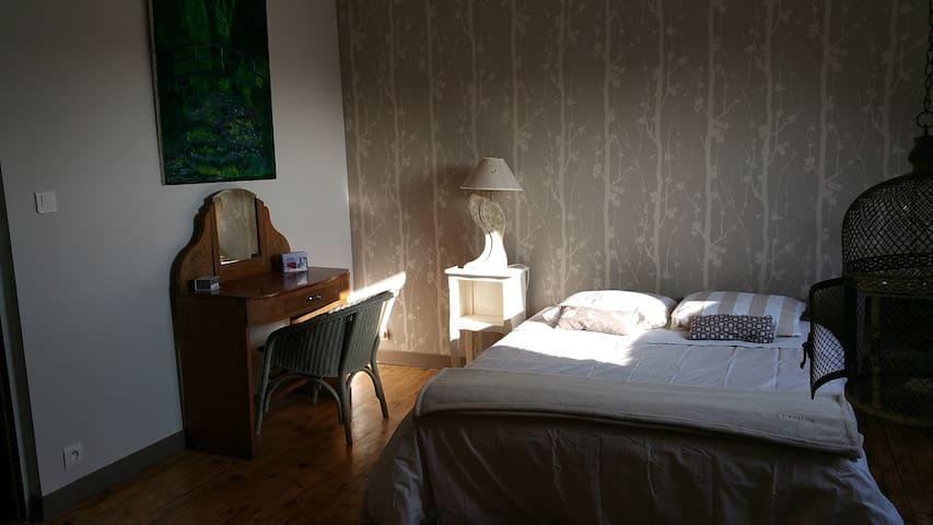 Chambre spacieuse avec salle d'eau privative. - Lorient - Huis