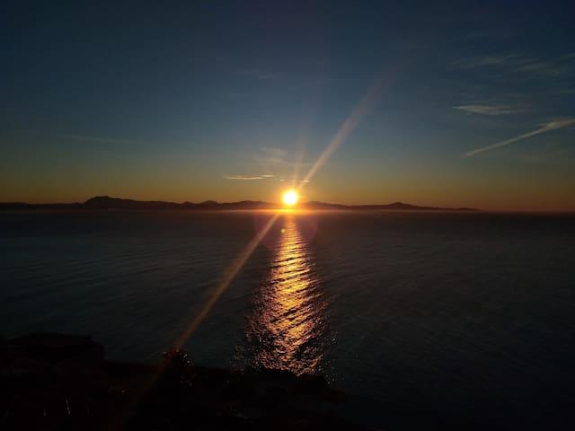 Betw Amalfi & Positano-close to the P. of the Gods