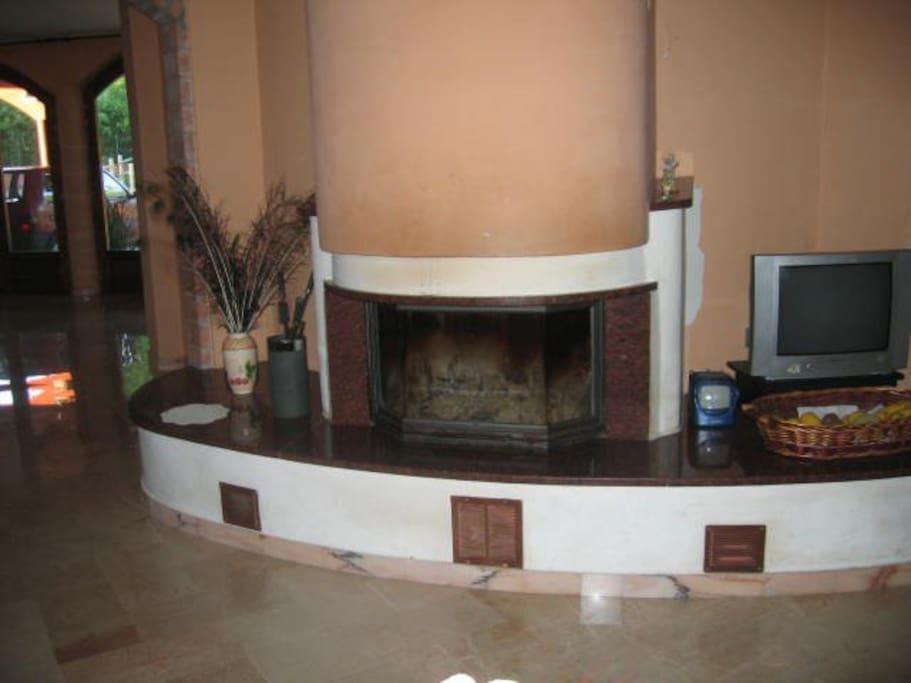 Sala Angolo camino_Fireplace