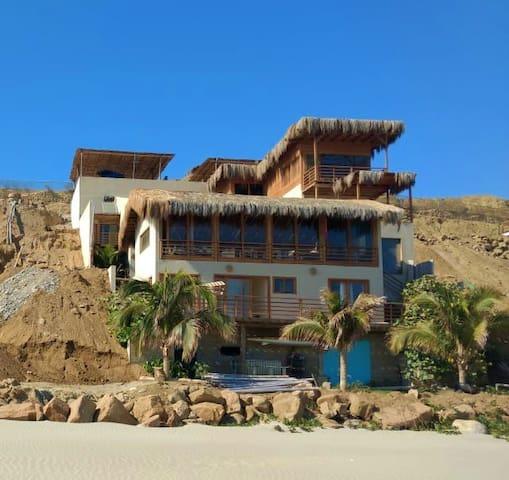 Apartamento Flamenco playa El Ñuro,Mancora,Órganos