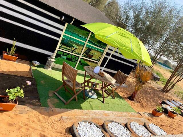 Dog Friendly A/C Deluxe Bedouin Tent (2)