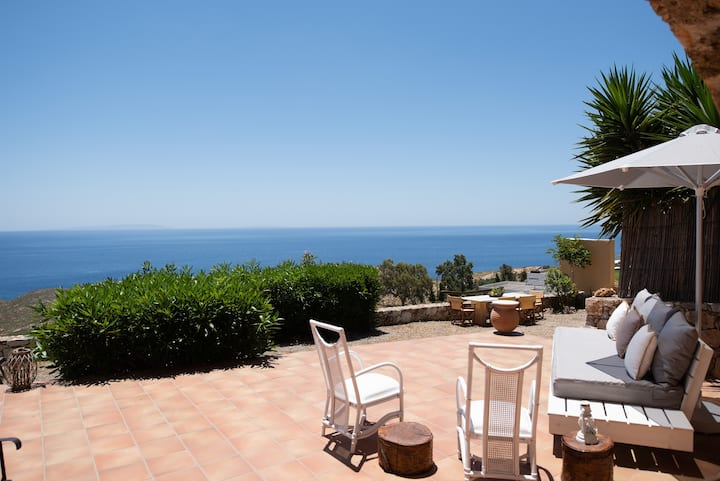 THOLOS, historic village house with amazing views!