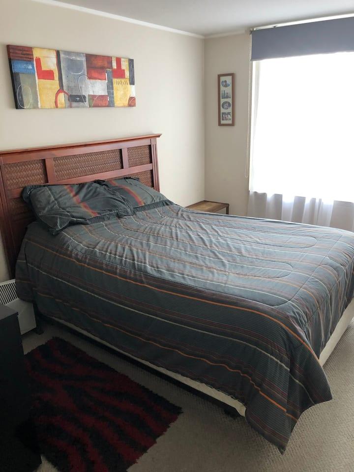 Departamento privado 2 dormitorios en Ñuñoa