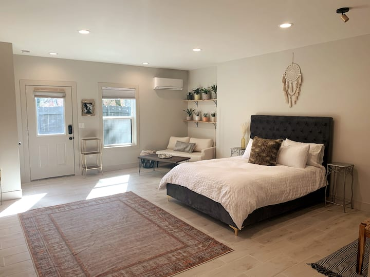 BRAND NEW private boho apartment in walkable W.AVL