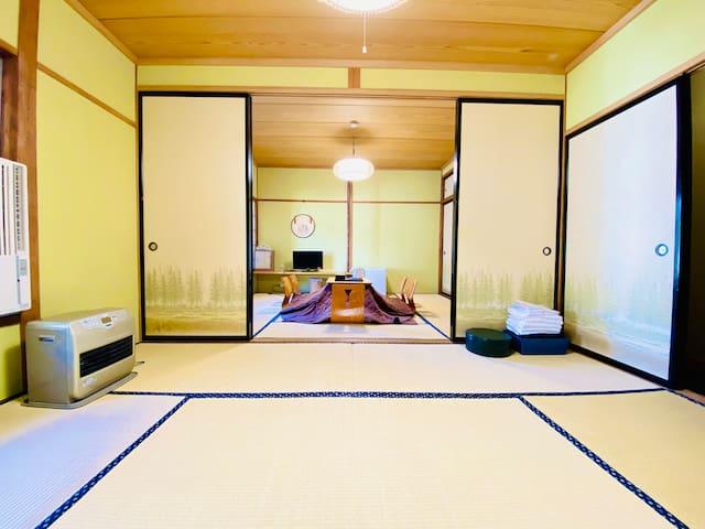 Japanese Inn in the Woods/Large Room for 3P
