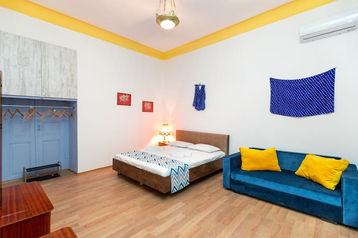 Blue Door Apartment in the center of Tbilisi
