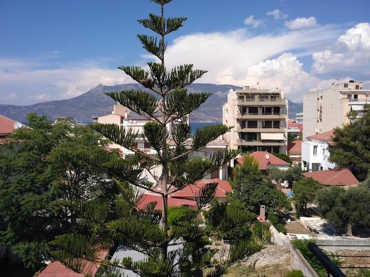 Korinthos Γκαρσονιέρα με θέα θάλασσα