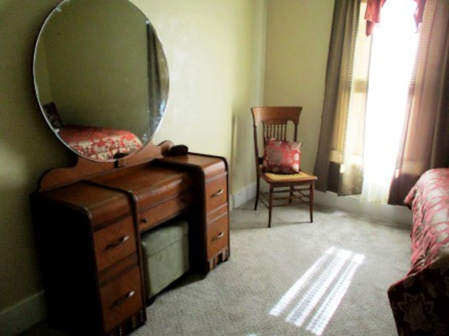 Dresser in The Bedroom Voluptuous (Not New, But Oh So Neat!)