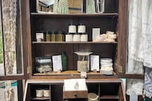 cabinet with all homage products
