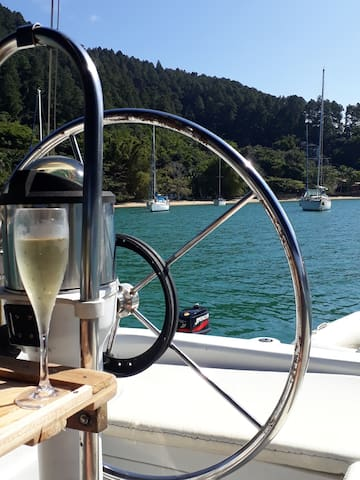 O aconchegante veleiro Kalua, privado: só pra vc!