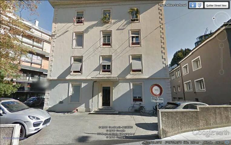 Joli 2 pièces meublé aux Eaux-Vives, Genève - Genève - Appartement
